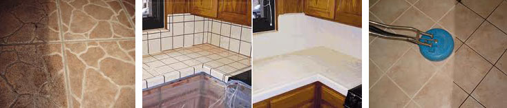 Kitchen Counter Tile Cleaning San Antonio
